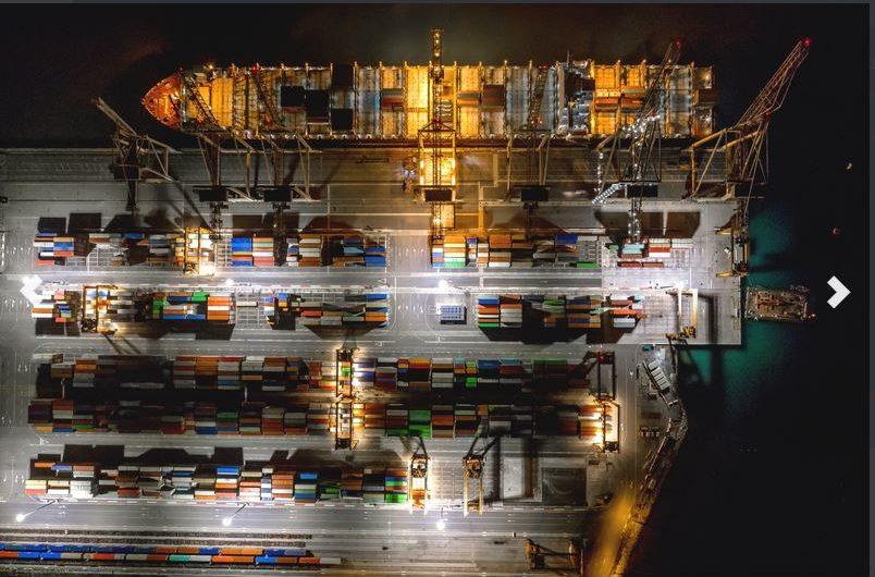 Hafen Koper im Jahr 2020: Kaum Einbußen im Segment Container