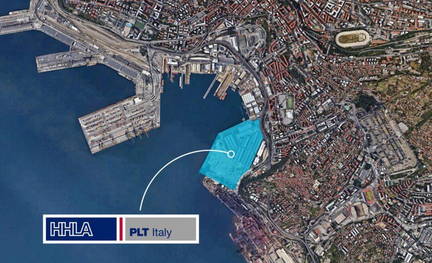HHLA PLT Italy geht im Hafen Triest an die Arbeit