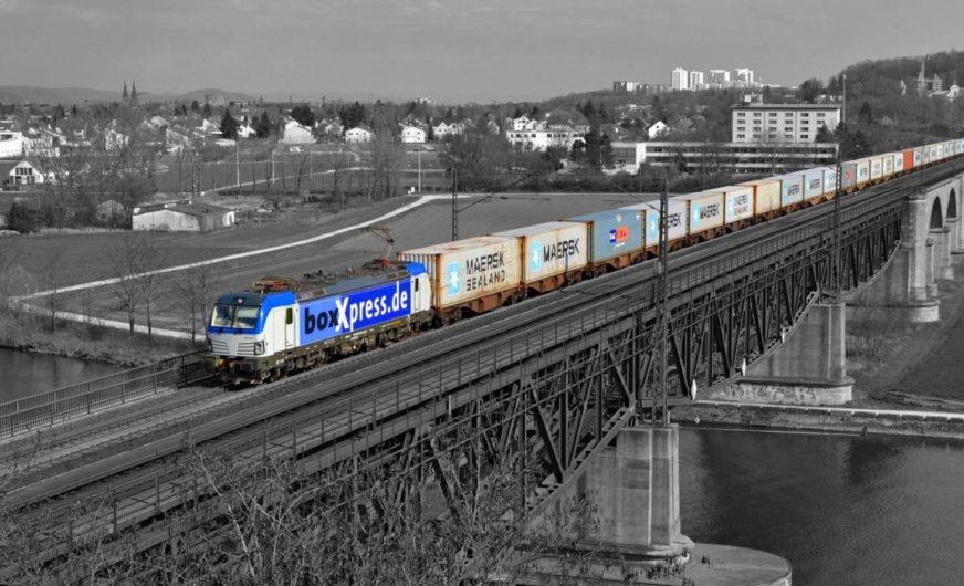 Maersk verstärkt Schienentransporte in Deutschland