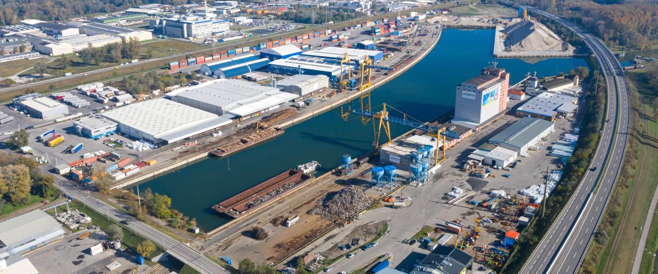 Rhenus Donauhafen Krems: Ausbau der Hallenlagerflächen