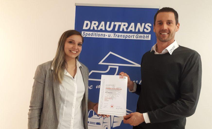 Weitere Spitzenkraft im Team der Drautrans GmbH