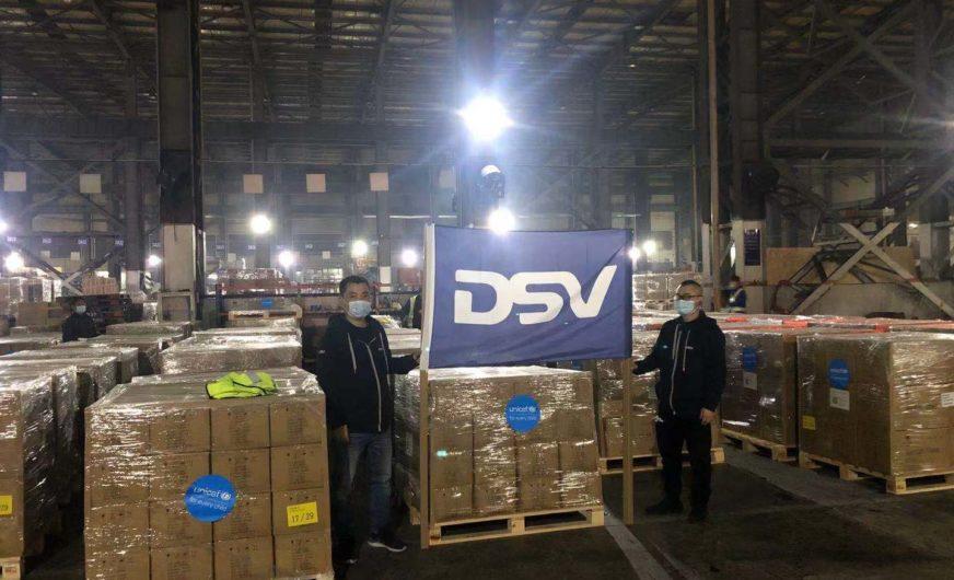 """""""DSV Helps"""": Frachtdienste zur Unterstützung von Unicef"""