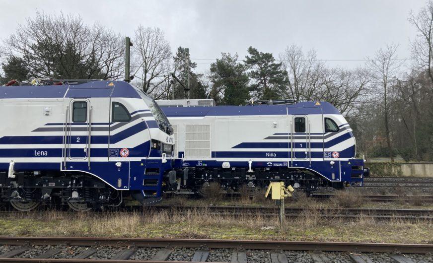 VTG/Retrack übernimmt die ersten EuroDual-Lokomotiven