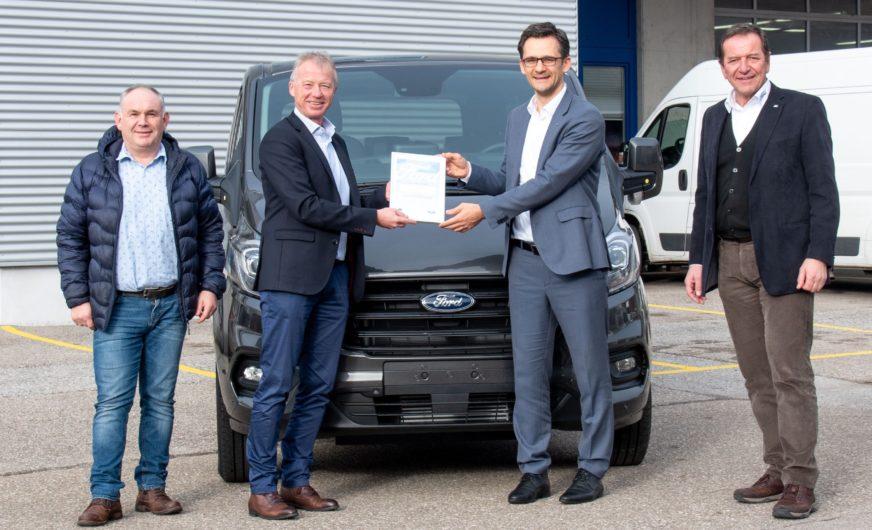 Marktspezifische Umbauten von Lagermax für Ford Österreich