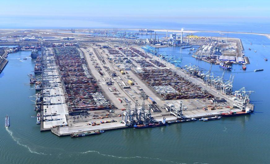 Hafen Rotterdam: Leichter Rückgang im Segment Container