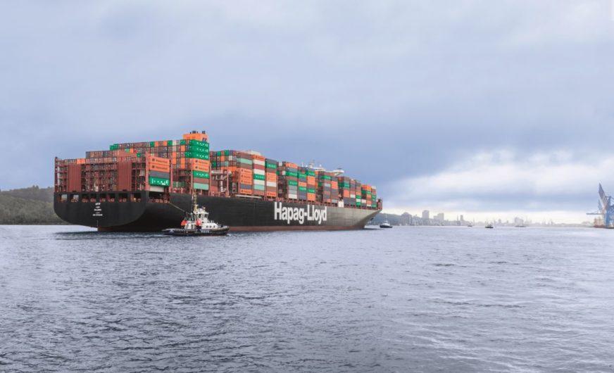 Hapag-Lloyd: Grüne Finanzierungen für sechs Großcontainerschiffe