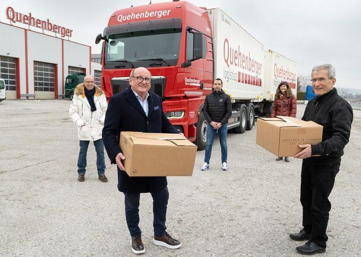 Quehenberger: Unterstützung für Erdbebenopfer in Kroatien