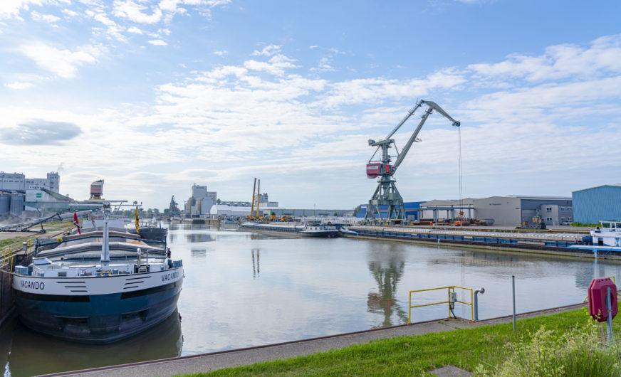 Bayernhafen Gruppe: Plus beim Schiffsgüterumschlag
