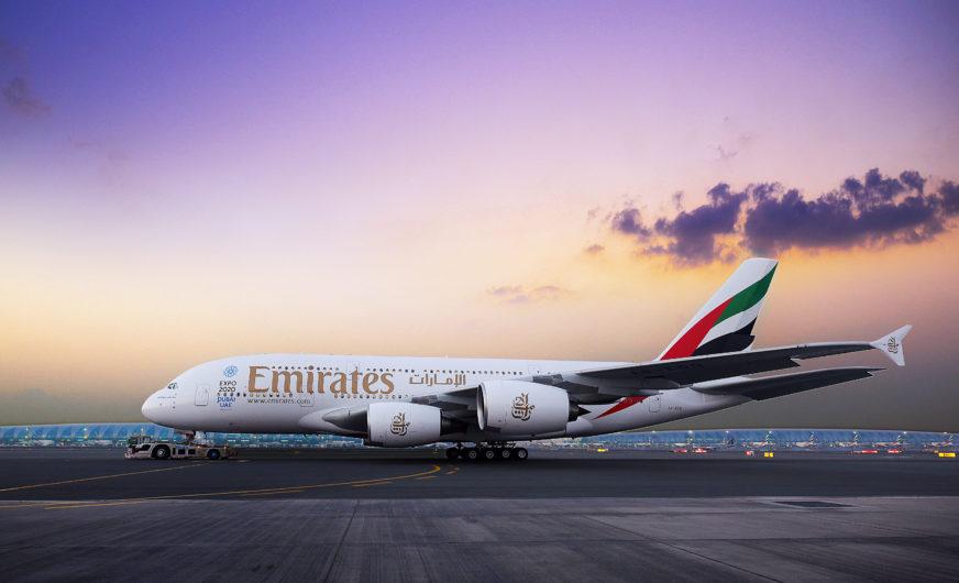 Airbus A380 von Emirates steht vor Comeback in Wien