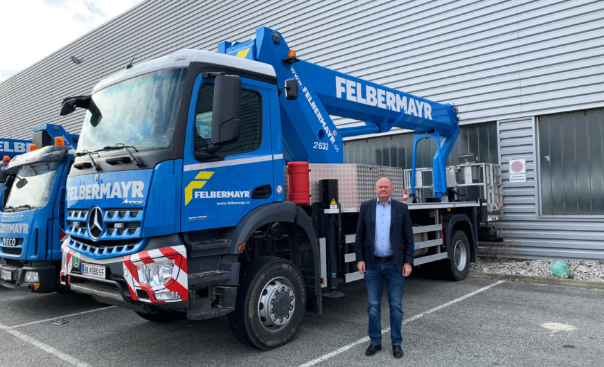 Dieter Reuberger verstärkt die Felbermayr-Bühnenvermietung