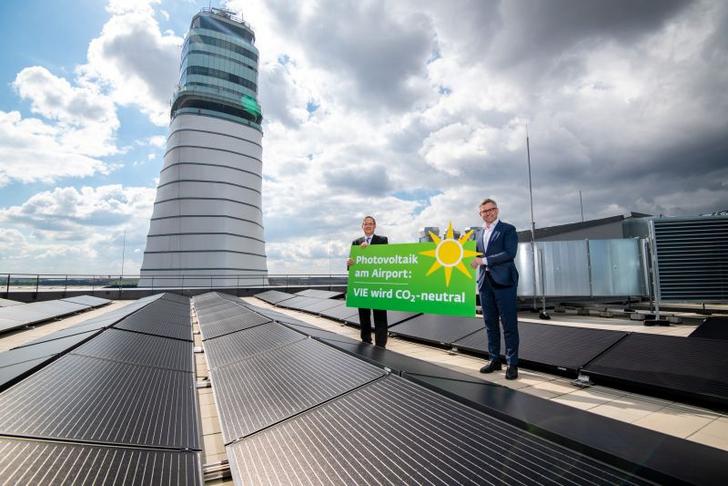 Am Flughafen Wien entsteht Österreichs größte Photovoltaikanlage