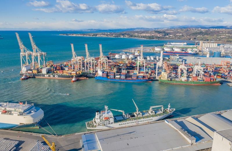 2020 brachte dem Hafen Koper 225.000 TEU im Österreich-Verkehr