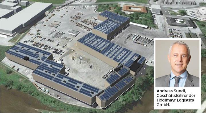 Neue Photovoltaikanlage bei Hödlmayr Logistics