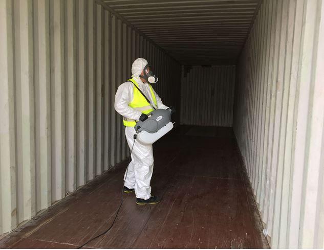 Swissterminal: Neuer Service zur Desinfektion von Containern