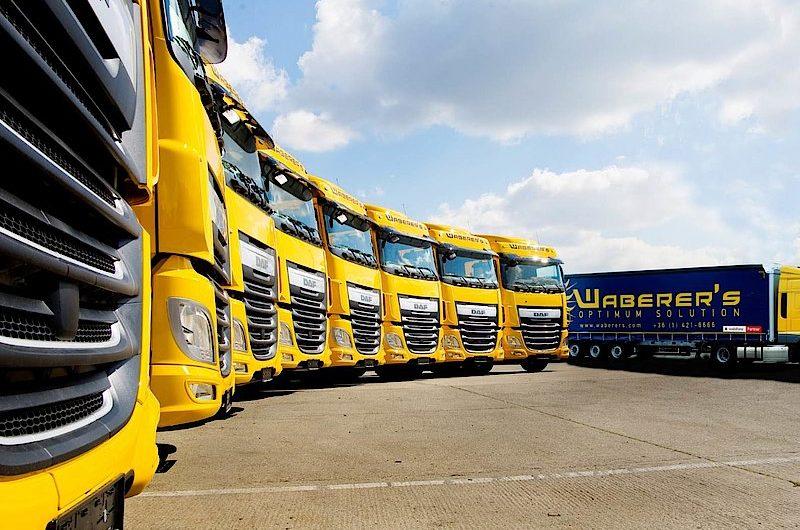 Waberer's-Flotte ist um fast 1.000 Lkw geschrumpft