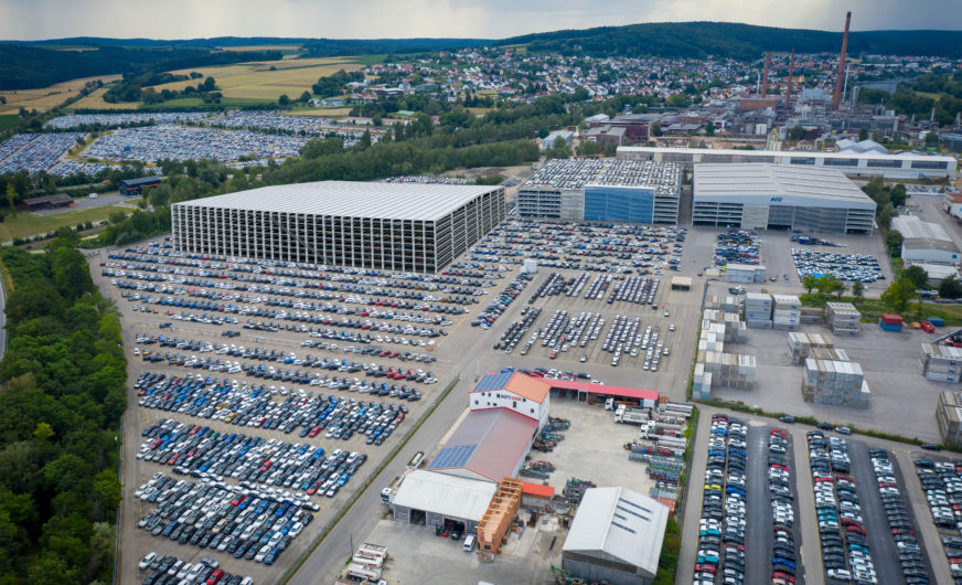 BLG Logistics baut drittes Autoregal für Kia Motors Deutschland