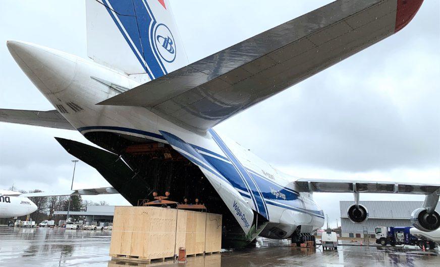 Luftfracht-Spezialcharter zur Bewältigung der Pandemie