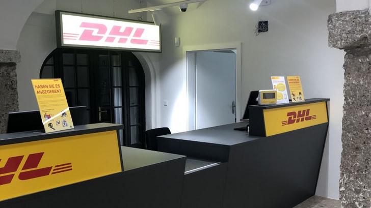 Jetzt hat auch Salzburg einen DHL Express Flagship Store