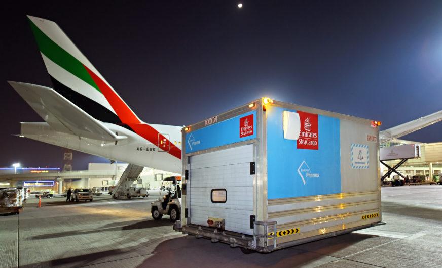 Emirates SkyCargo: Transport von 50 Mio. Dosen Covid-19 Impfstoffen