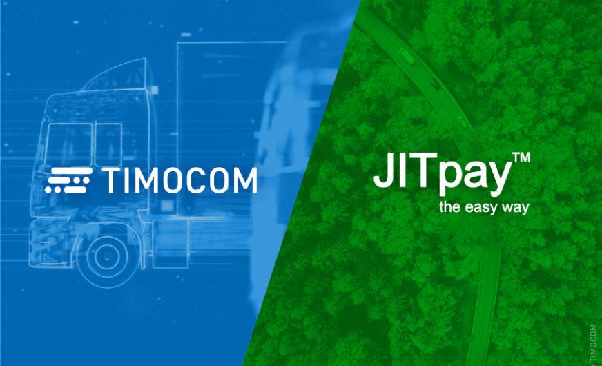 JITpay schützt Timocom-Kunden vor Forderungsausfällen