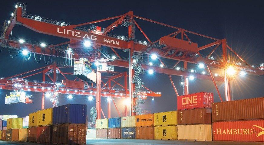 """Neues """"digital rail gate"""" im Containerterminal Linz"""