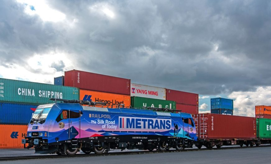 Metrans mietet seit 10 Jahren Railpool-Lokomotiven