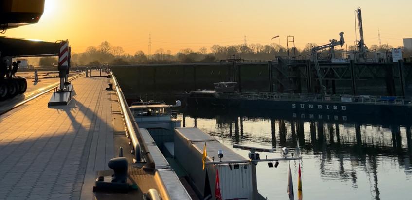 Nordfrost-Hafenbetrieb in Wesel geht an den Start