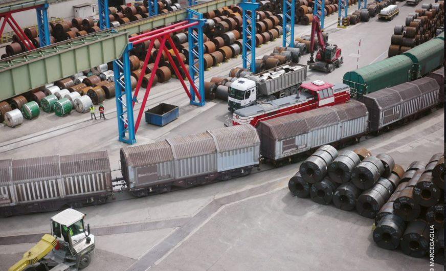 Marcegaglia vertraut weiter auf die ÖBB Rail Cargo Group