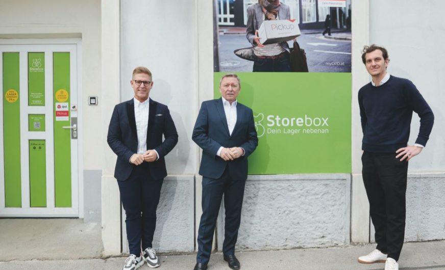 Erste gemeinsame Paketstation von DPD Austria und Storebox