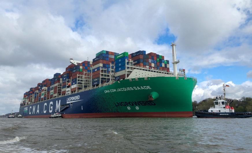 Verbesserte Tiefgänge in den Hamburger Hafen