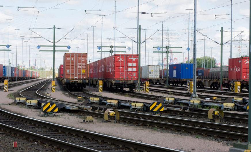 Hafen Hamburg: Starkes Plus im Containerverkehr per Bahn