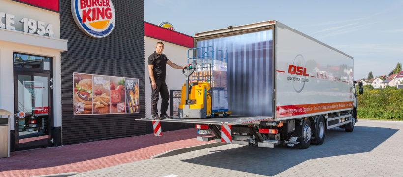 Quick Service Logistics hat große Ziele in Österreich
