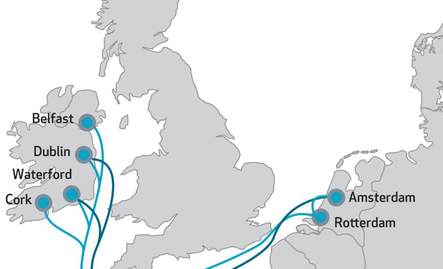 Irland-Dienst von Samskip bedient jetzt auch Waterford