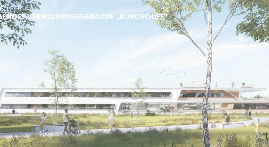 Schwimmendes Gebäude wird neue viadonau-Unternehmenszentrale