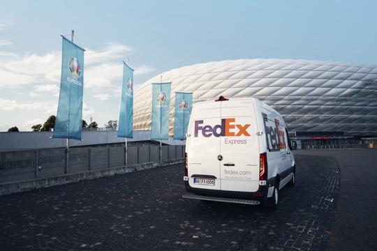 Logistiker FedEx ist bereit für die UEFA Euro 2020