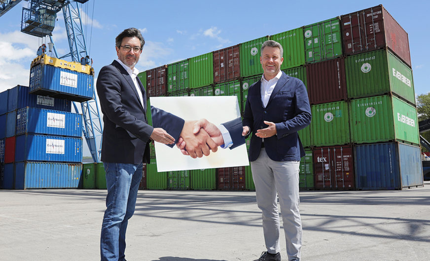 Weil am Rhein: Contargo pachtet das Container-Terminal