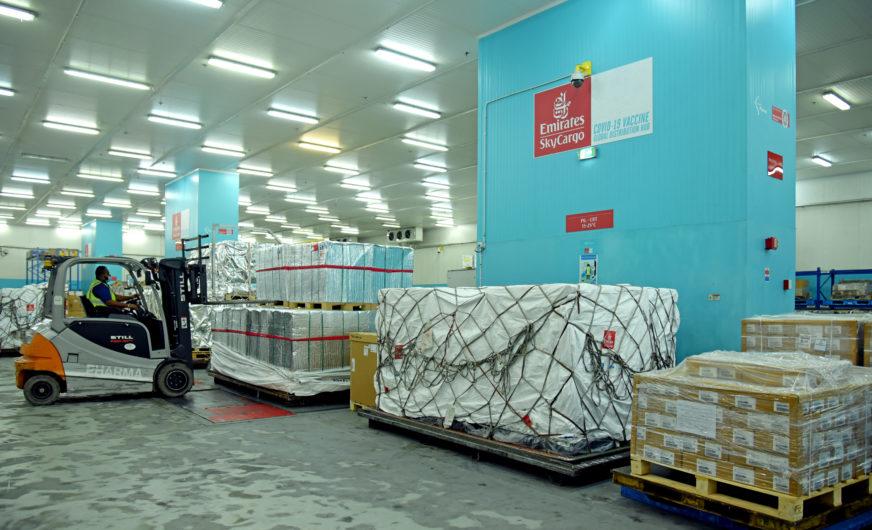 Emirates SkyCargo erhöht Kapazität für Impfstoffe