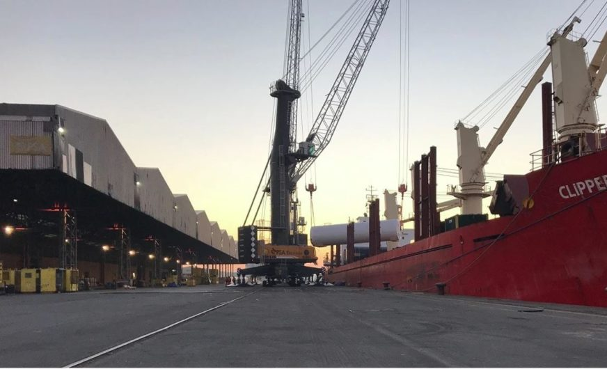 Weiterer Schub für Breakbulk im Hafen Antwerpen