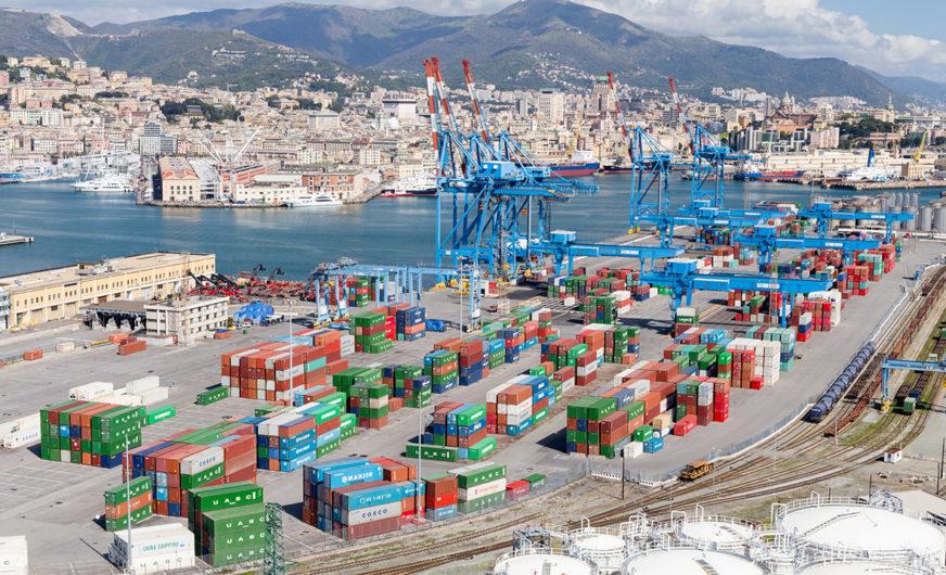 Spedition a. hartrodt nutzt Genua als Tor nach Europa