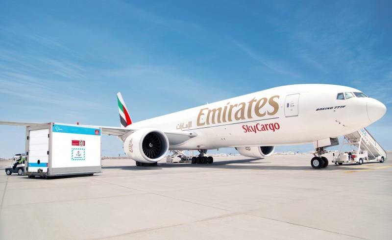 Emirates SkyCargo: Meilenstein beim Impfstofftransport