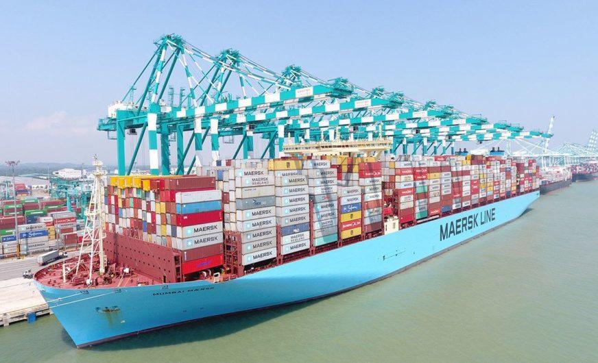 Maersk Line adaptiert Streckennetz in Asien