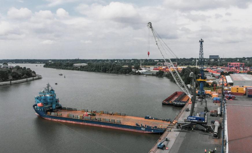 Rhenus Hamburg erhöht die Umschlagsgeschwindigkeit