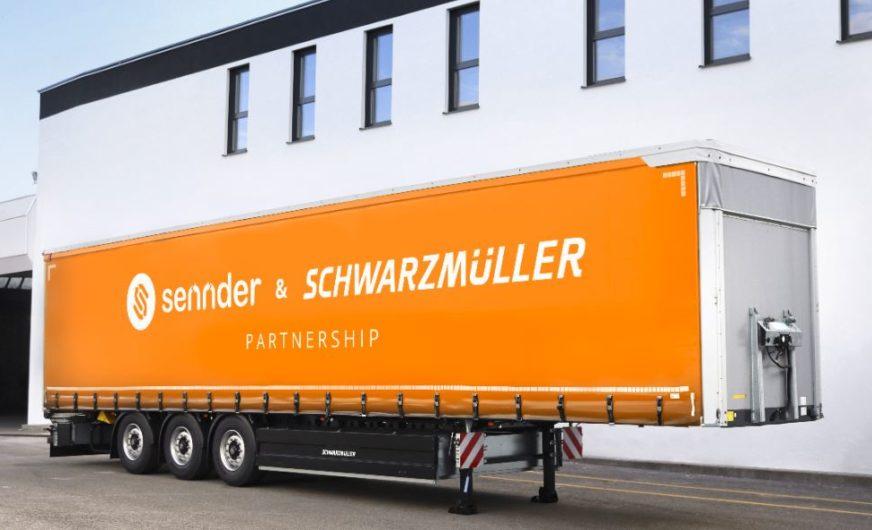 Digitalspedition Sennder kooperiert mit der Schwarzmüller Gruppe
