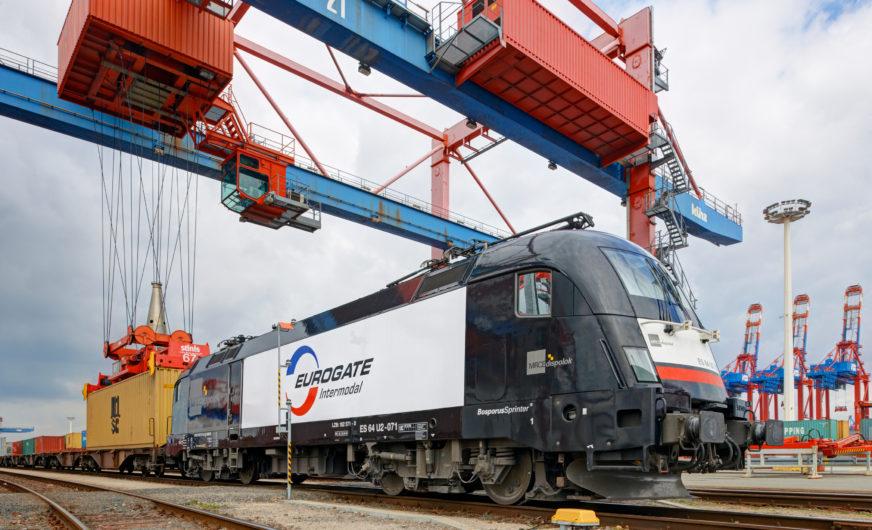 Hamburg: Rekord beim Containerverkehr per Bahn