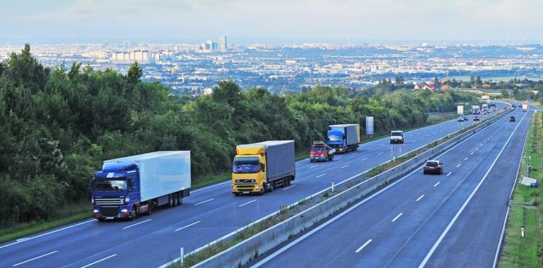 Lkw-Verkehr in Österreich übertrifft Vor-Corona-Niveau
