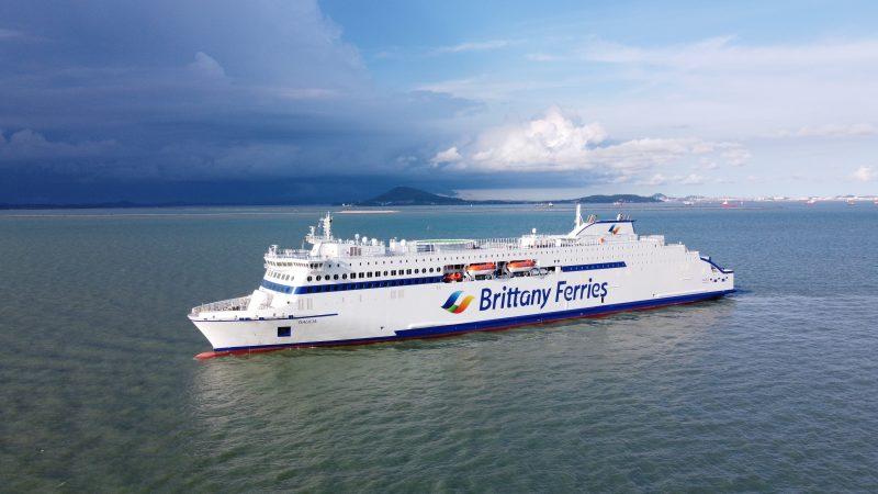 CMA CGM Group unterstützt Brittany Ferries