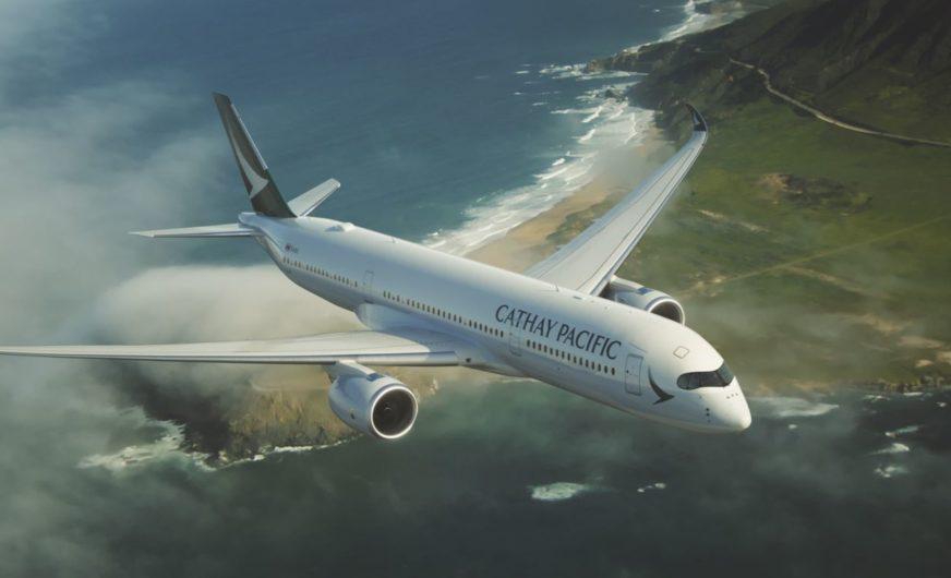 Hongkong: 75 Jahre Cathay Pacific Airways