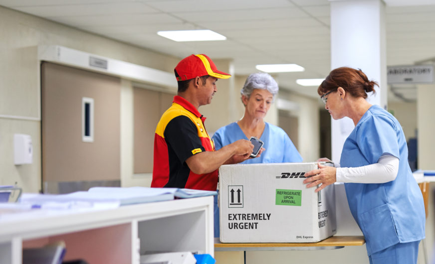 DHL glänzt als Logistiker für Life Sciences und Healthcare