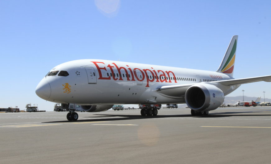 Ethiopian Airlines setzt einen Cargo-Meilenstein