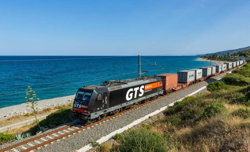 Güterbahn GTS verbindet Bari und Rotterdam